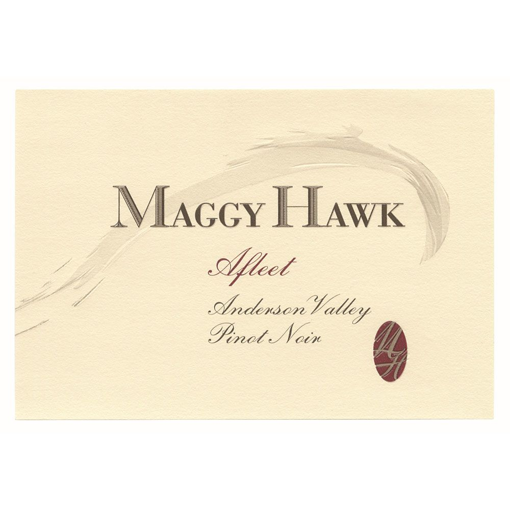Maggy Hawk Afleet Anderson Valley Pinot Noir 2012 Front Label