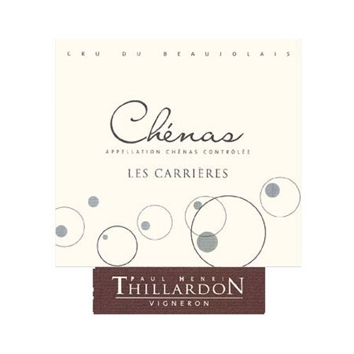 Paul-Henri Thillardon Chenas Les Carrieres 2012 Front Label