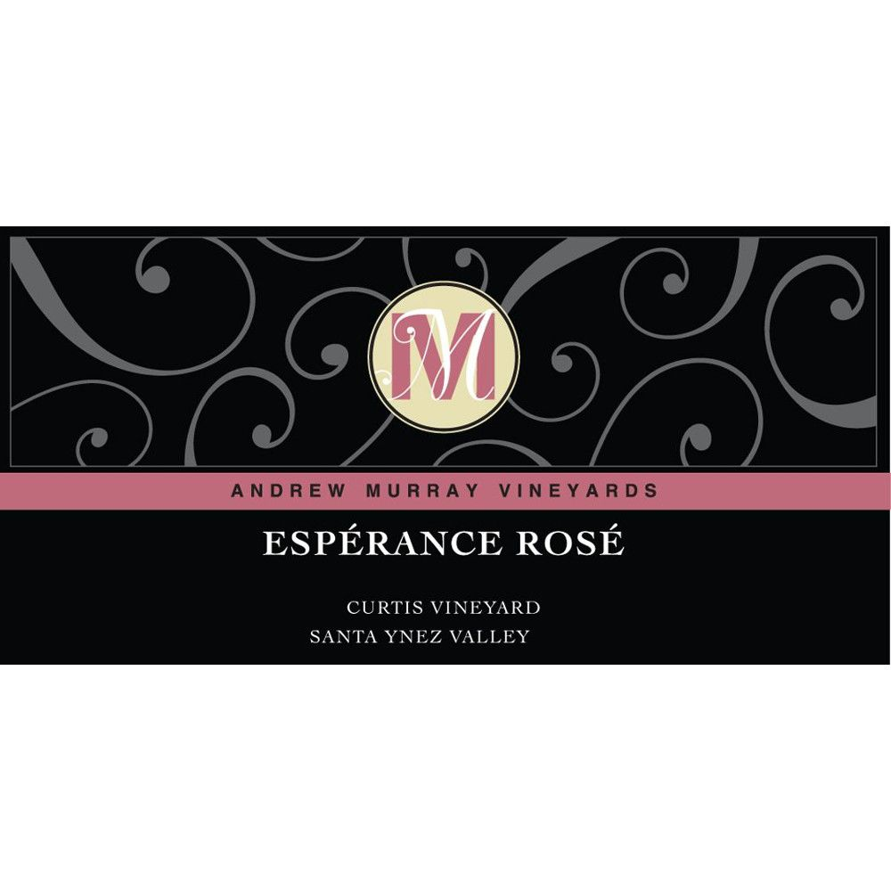 Andrew Murray Esperance Rose 2015 Front Label