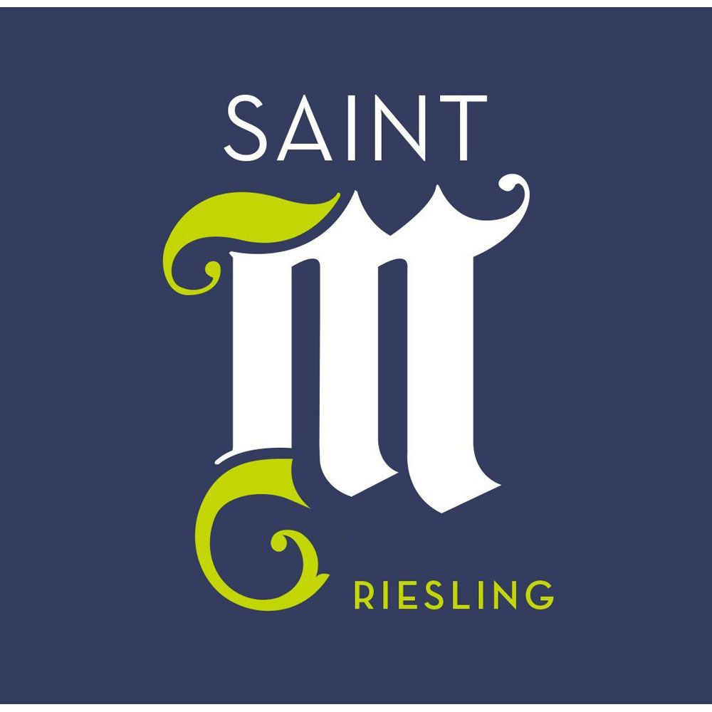 Saint M Riesling 2014 Front Label