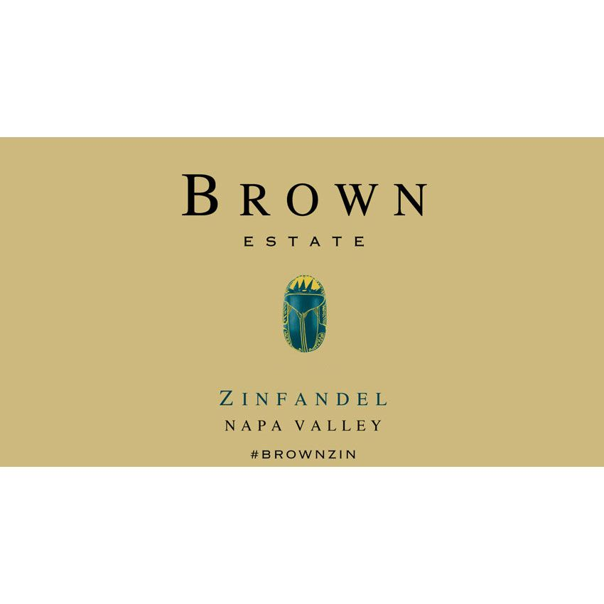 Brown Estate Zinfandel 2014 Front Label
