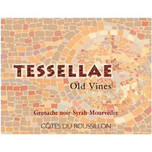 Domaine Lafage Tessellae Old Vines GSM 2014 Front Label