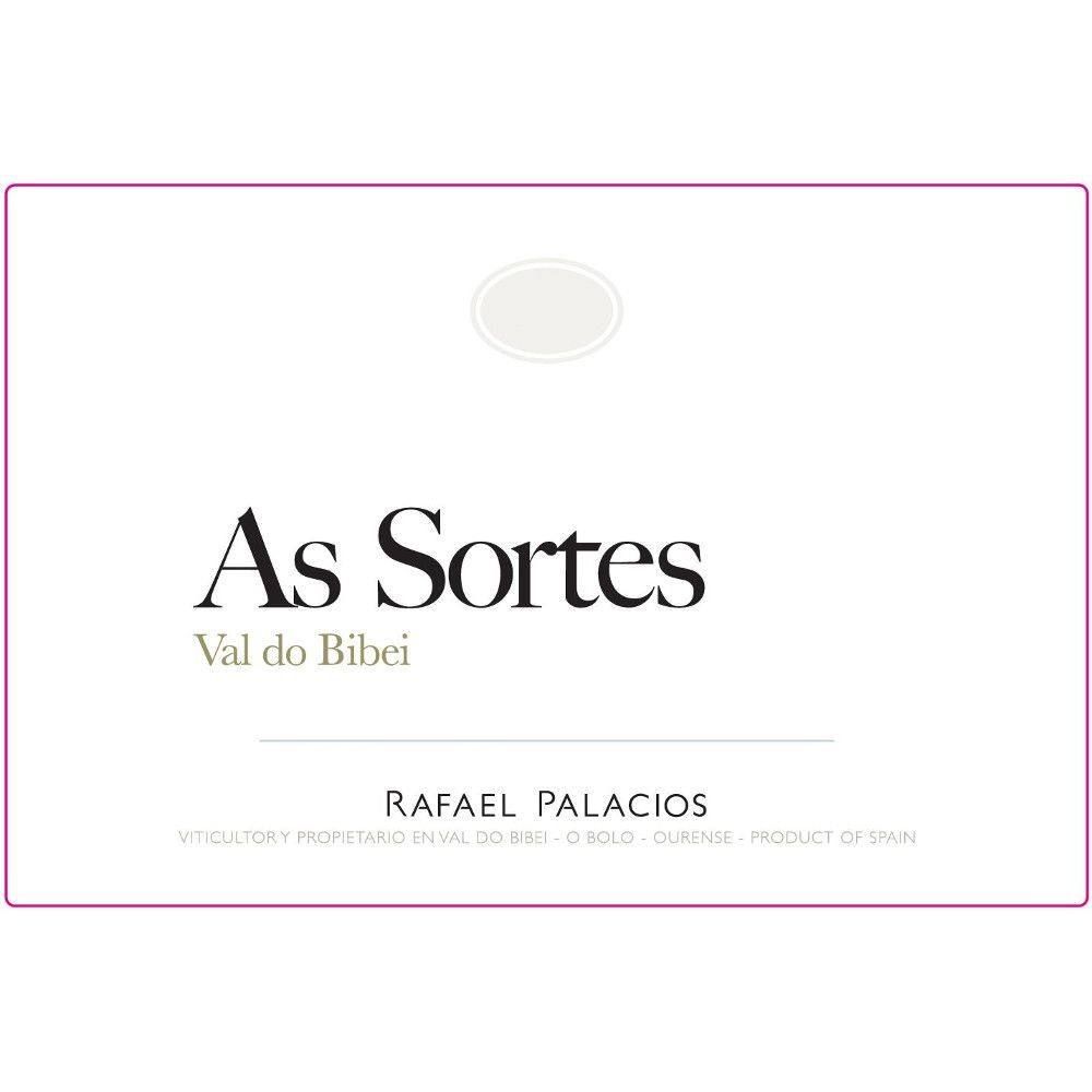 Rafael Palacios As Sortes 2014 Front Label