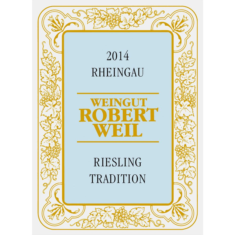 Robert Weil Riesling Tradition 2014 Front Label