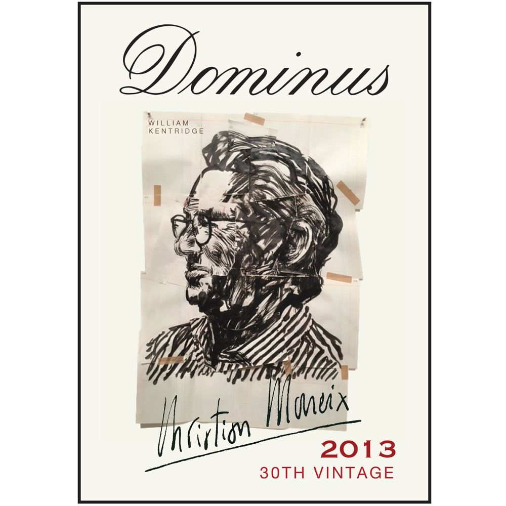 Dominus Estate (375ML half-bottle) 2013 Front Label