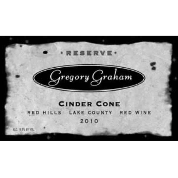 Gregory Graham Cinder Cone Reserve Red 2010 Front Label