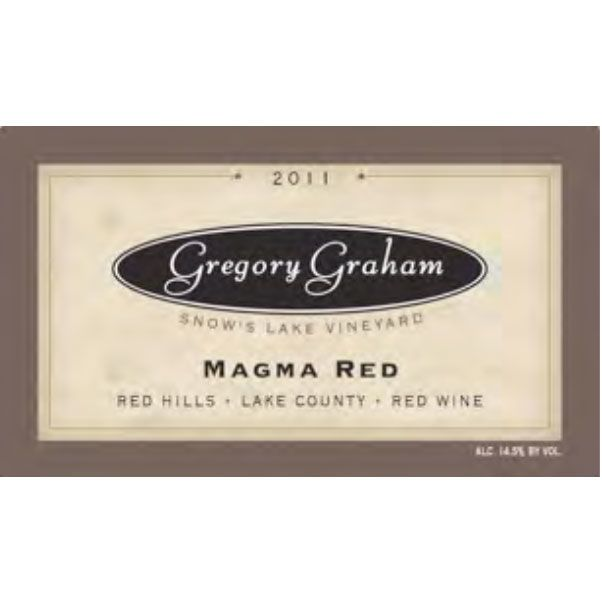 Gregory Graham Magma Red 2011 Front Label