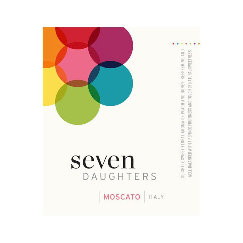 Seven Daughters Moscato 2015 Front Label