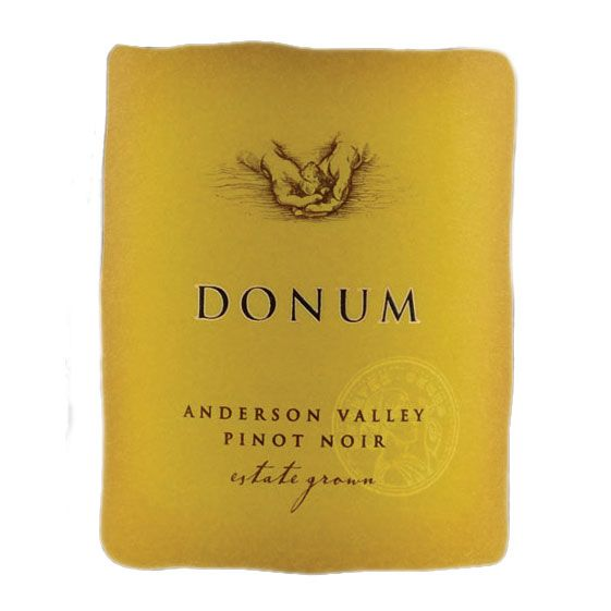 The Donum Estate Anderson Valley Estate Pinot Noir 2013 Front Label
