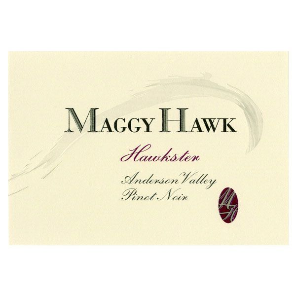 Maggy Hawk Hawkster Anderson Valley Pinot Noir 2012 Front Label