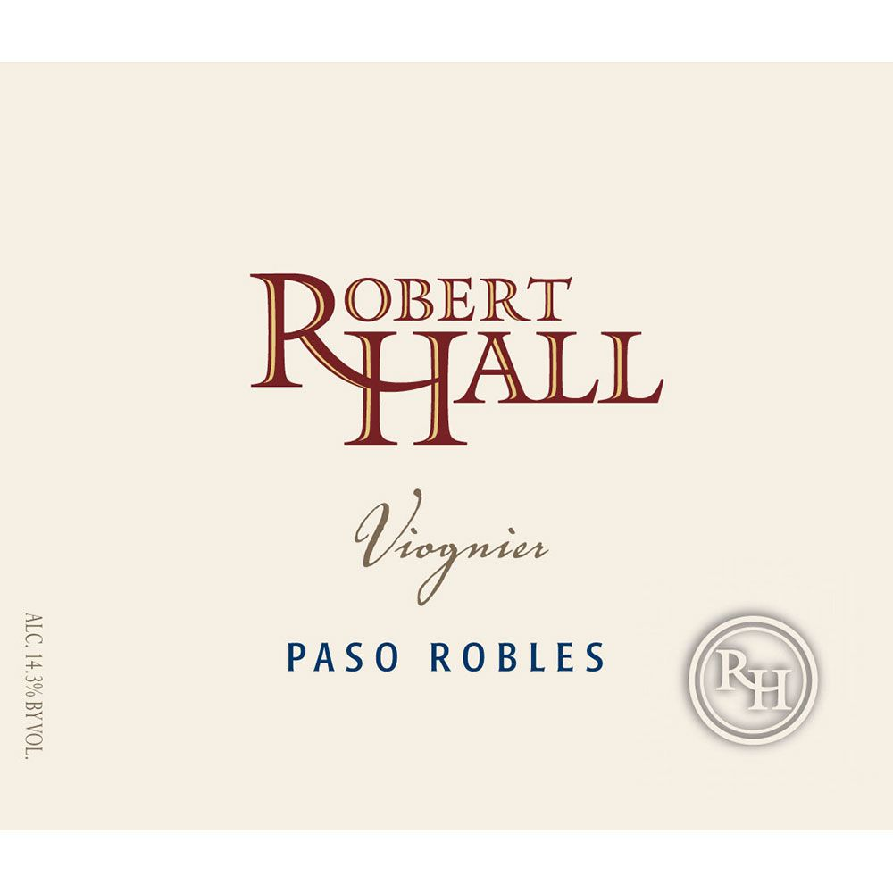 Robert Hall Viognier 2015 Front Label