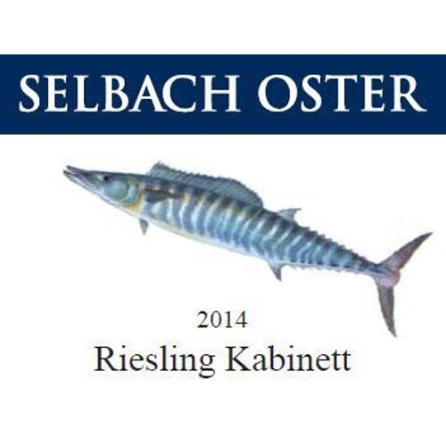 Selbach Kabinett Riesling (Fish Label) 2014 Front Label