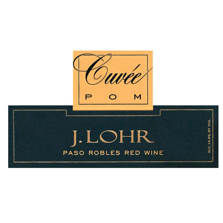 J. Lohr Vineyards & Wines Cuvee POM 2012 Front Label