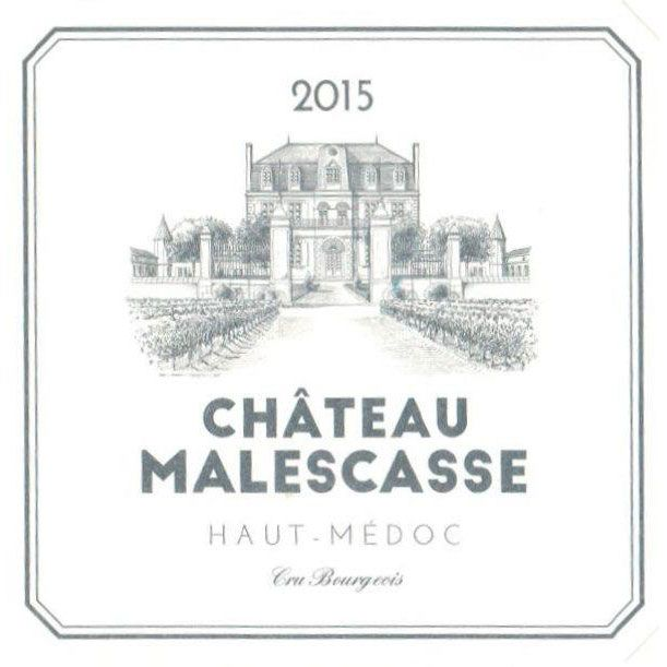Chateau Malescasse  2015 Front Label