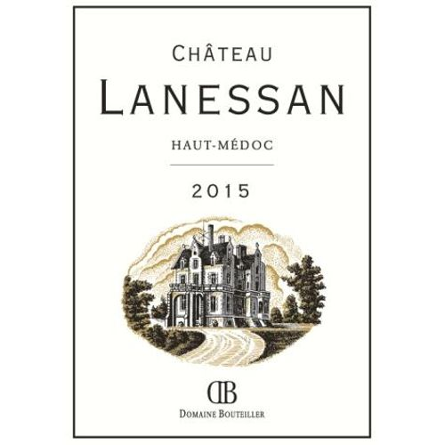 Chateau Lanessan  2015 Front Label