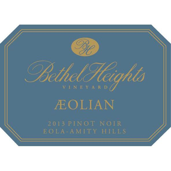 Bethel Heights Aeolian Pinot Noir 2013 Front Label