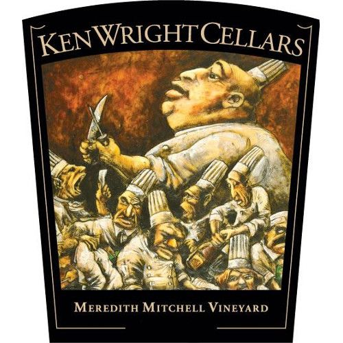 Ken Wright Cellars Meredith Mitchell Vineyard Pinot Noir 2010 Front Label