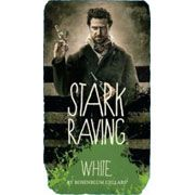 Stark Raving White Front Label