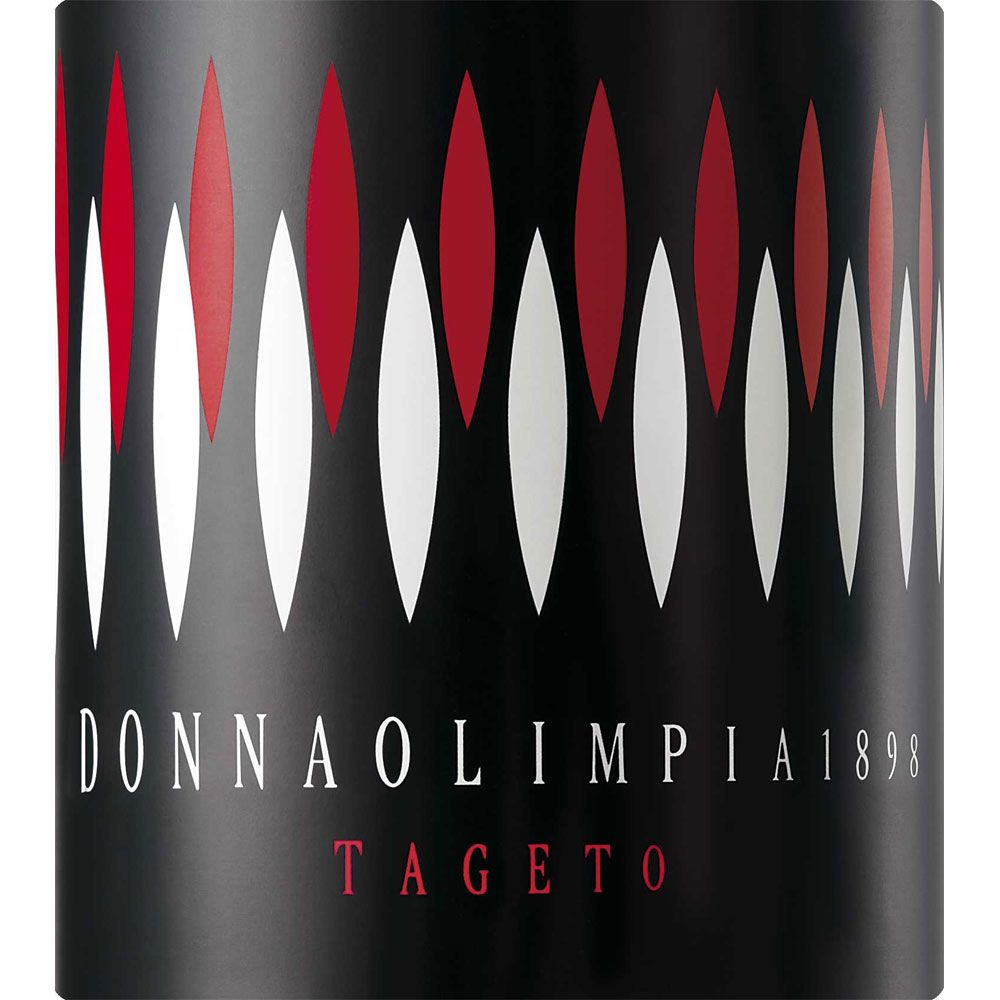 Donna Olimpia 1898 Tageto 2012 Front Label