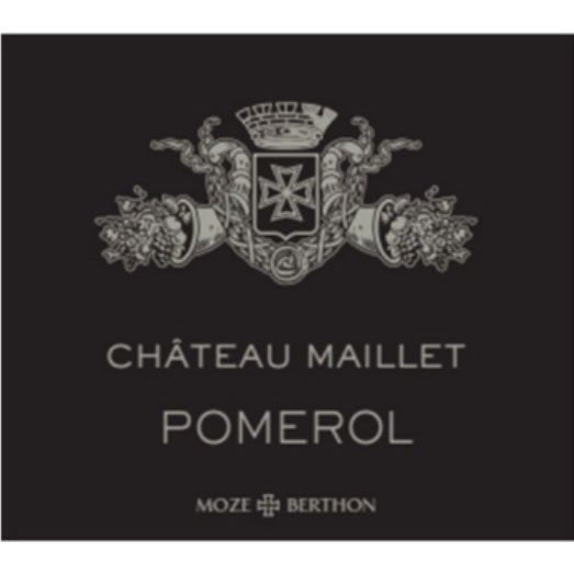 Chateau Maillet  2015 Front Label