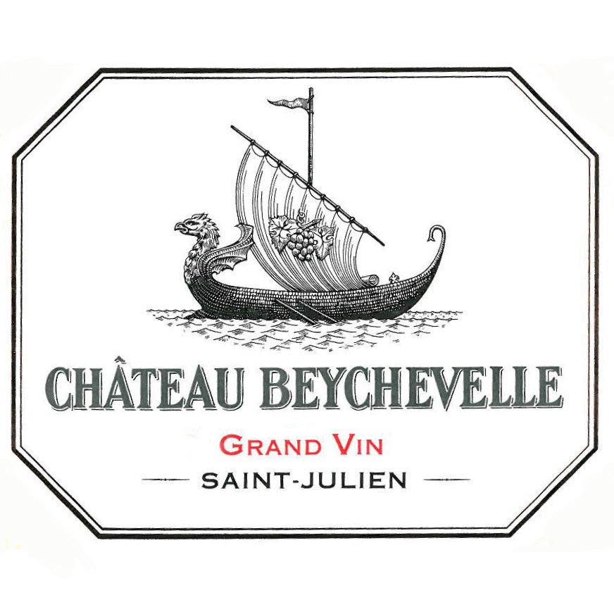 Chateau Beychevelle  2015 Front Label
