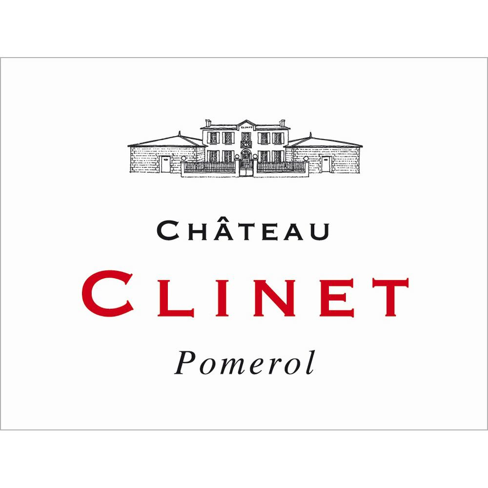 Chateau Clinet  2015 Front Label