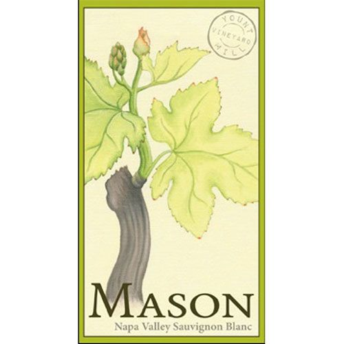 Mason Napa Valley Sauvignon Blanc (375ML half-bottle) 2014 Front Label