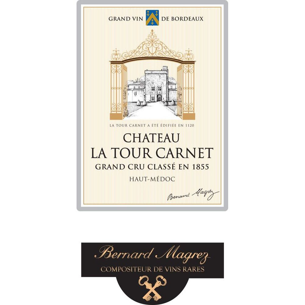 Chateau La Tour Carnet  2015 Front Label