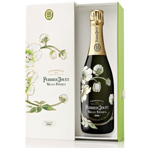 Perrier-Jouet Belle Epoque with Gift Box 2006 Front Label