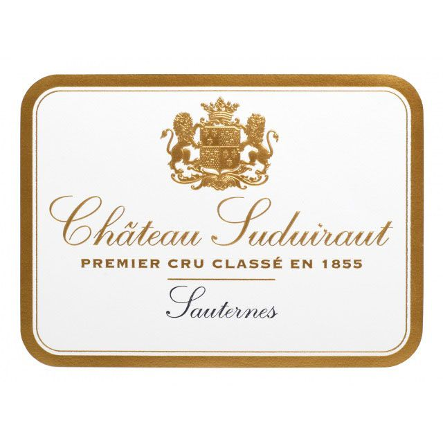 Chateau Suduiraut Sauternes (375ML half-bottle) 2015 Front Label