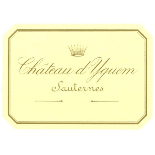 Chateau d'Yquem Sauternes (375ML half-bottle) 1988 Front Label