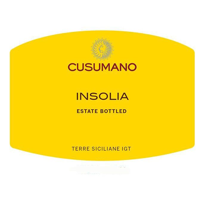 Cusumano Insolia 2015 Front Label