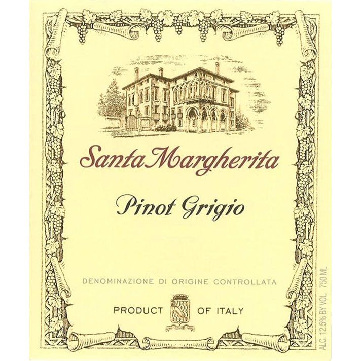 Santa Margherita Pinot Grigio (375ML half-bottle) 2015 Front Label