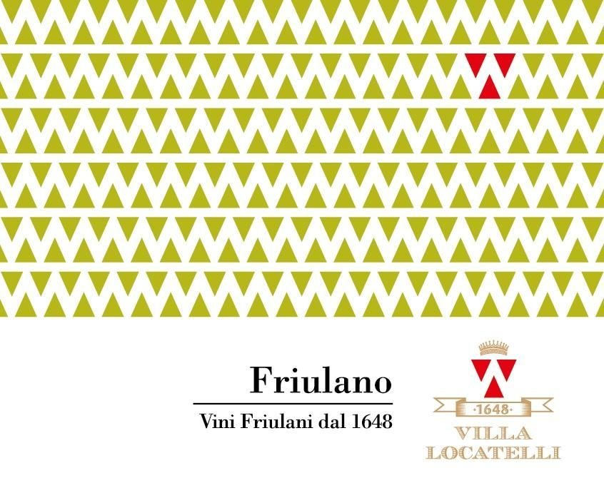 Villa Locatelli Friulano 2011 Front Label