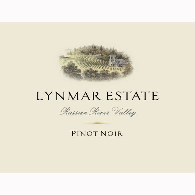 Lynmar Winery Russian River Pinot Noir 2014 Front Label