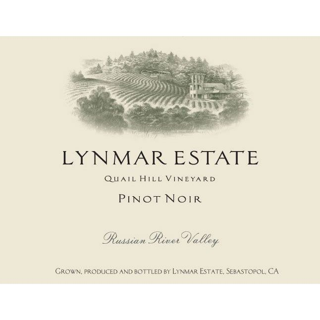 Lynmar Winery Quail Hill Cuvee Pinot Noir 2013 Front Label