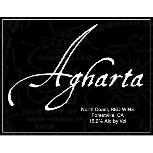 Agharta Syrah 2009 Front Label