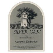 Silver Oak Alexander Valley Cabernet Sauvignon (3 Liter Bottle) 1984 Front Label