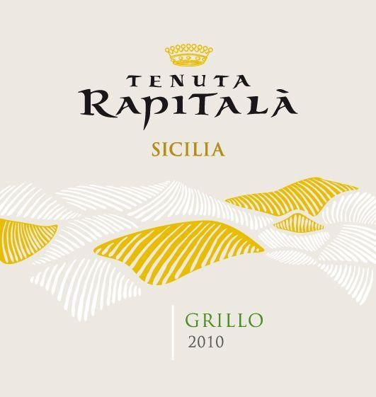 Rapitala Grillo 2010 Front Label