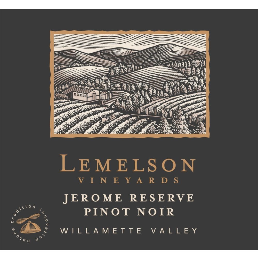 Lemelson Jerome Reserve Pinot Noir 2013 Front Label