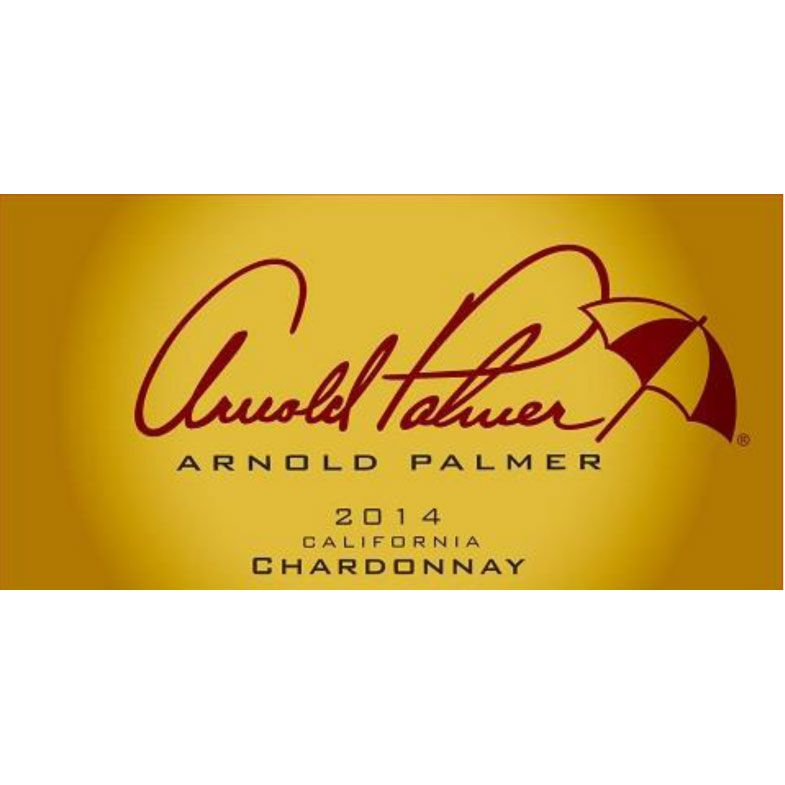 Arnold Palmer Chardonnay 2014 Front Label