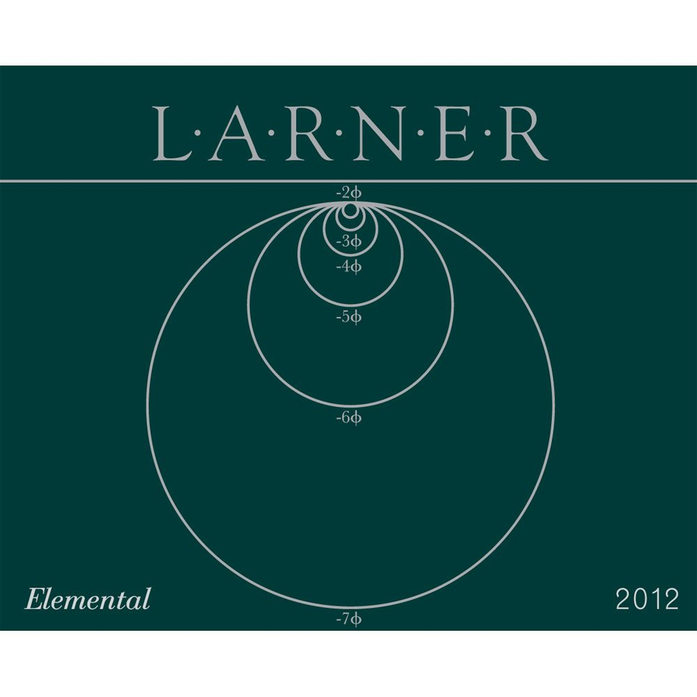 Larner Elemental GSM 2012 Front Label