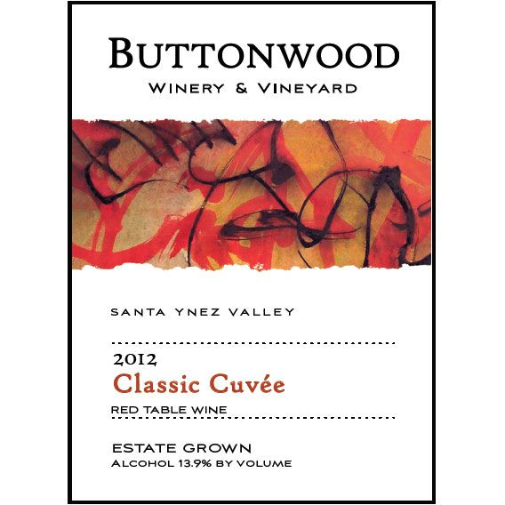 Buttonwood Farms Classic Cuvee 2012 Front Label