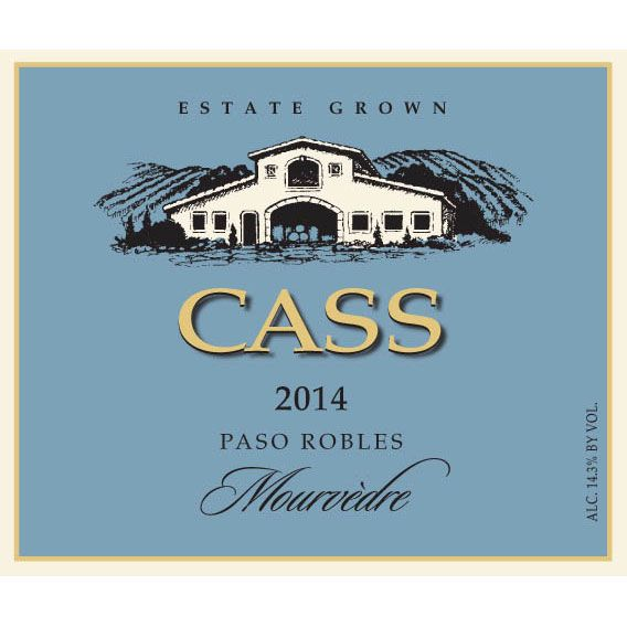 Cass Winery Mourvedre 2014 Front Label