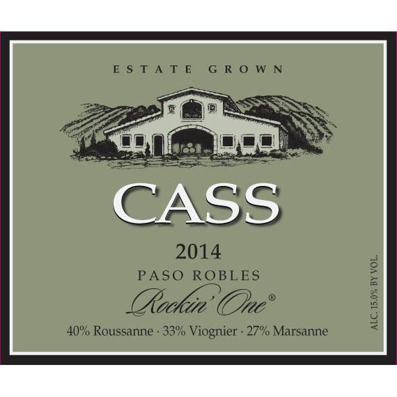 Cass Winery Rockin' One Blanc 2014 Front Label