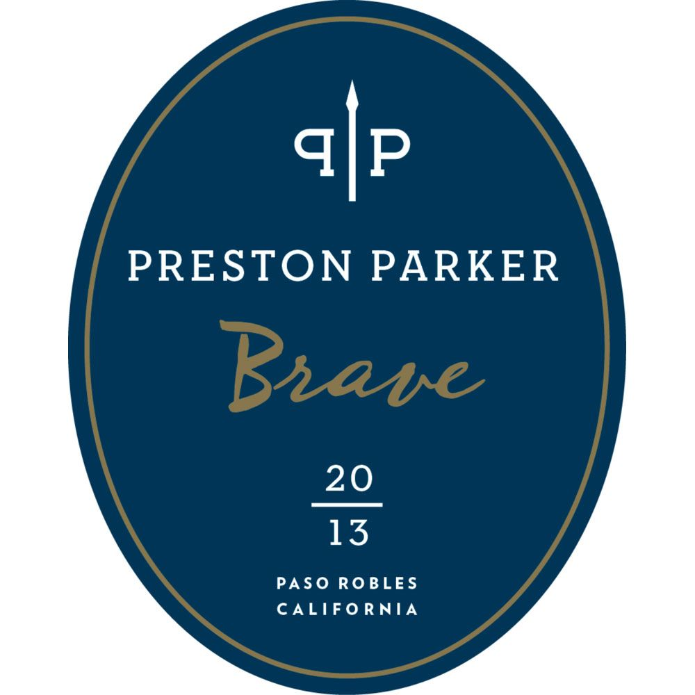Preston Parker Brave 2013 Front Label