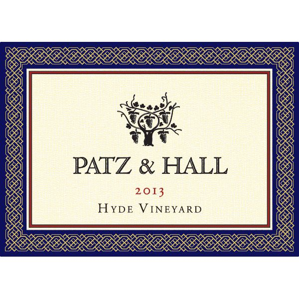 Patz & Hall Hyde Vineyard Chardonnay (375ML half-bottle) 2013 Front Label