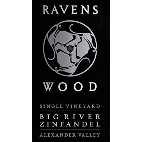 Ravenswood Big River Zinfandel 2012 Front Label