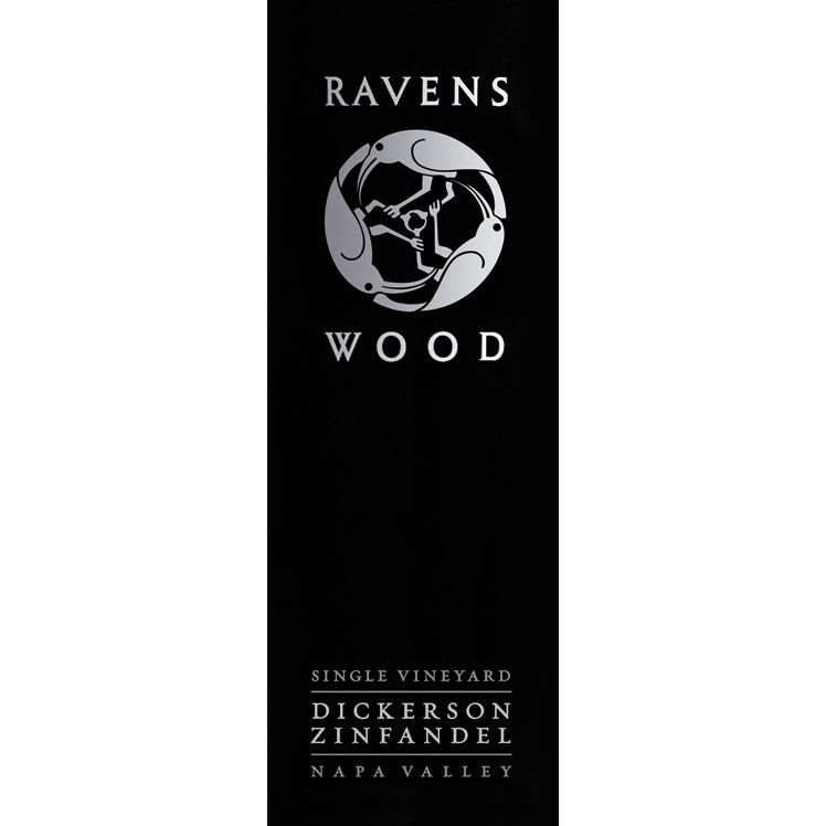 Ravenswood Dickerson Vineyard Zinfandel 2013 Front Label