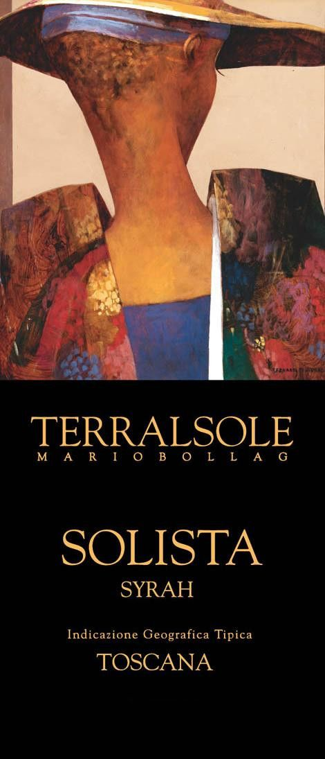 Terralsole Solista Toscana Syrah 2007 Front Label